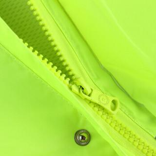 谋福 8011系列 荧光绿反光分体执勤雨衣雨裤服装套装 透气路政成人分体骑行交警雨衣(荧光绿YGL01 XL175)