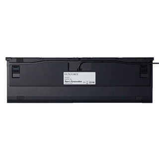 RealForce 燃风 R2SA-US4-BK PFU联名版 108键 有线静电容键盘 45g 黑色 无光