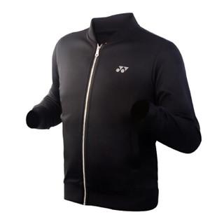 YONEX 尤尼克斯  羽毛球服yy运动服长袖外套春秋男款150097 黑色男款 XXO(XXL)