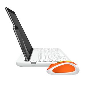 Logitech 罗技 K480 无线键盘+LINE FRIENDS 无线鼠标 萌趣莎莉