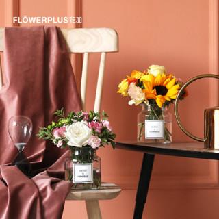 花加(FLOWERPLUS)miniplus桌花包月鲜花 包月4束 隔周配送 包月4束(隔周配送) 周六收花 定制