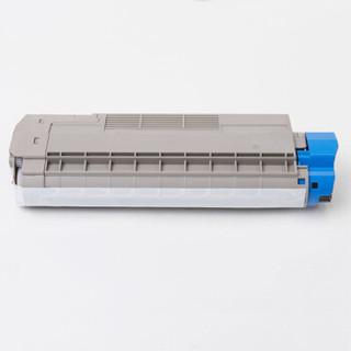 艾洁 OKI C610粉盒黑色 适用于OKI C610激光打印机 610碳粉 C610N墨粉 OKI C610粉盒