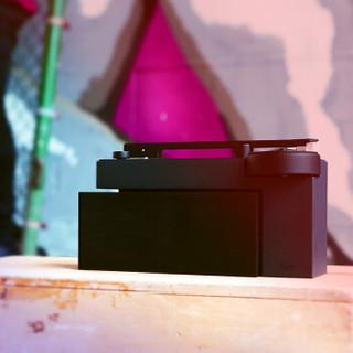 hymoriginals H1-ONC01 Seed-DUO黑胶智能音响 蓝牙交互 低音炮音箱音响 电唱机 唱片机