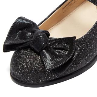 巴拉巴拉旗下梦多多mongdodo童装女童公主鞋2019春季新款中大童公主鞋71121190251黑色26
