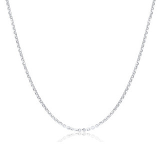 SUNFEEL 赛菲尔 SXA0063 pt950白金o字链十字链 2.55-2.74g 45cm