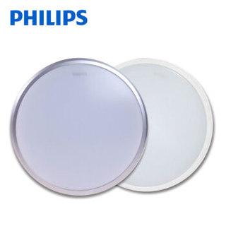 PHILIPS/飞利浦 恒洁(升级版)/31825/灰色/17W/65K  17W 白光