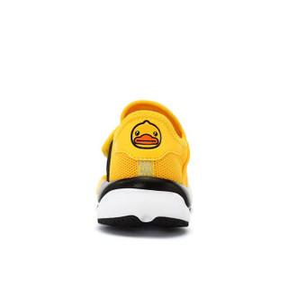 小黄鸭(B.Duck)童鞋男童运动鞋 春季新款男孩休闲潮鞋儿童运动鞋 B1083924黄色35
