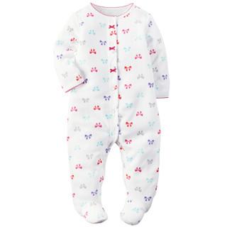 Carter's凯得史 女宝宝婴儿童装 长袖连体衣 115G151 6M码