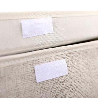金榕大号无纺布可折叠收纳箱衣物被子高深储物箱杂物整理箱41*30*59CM