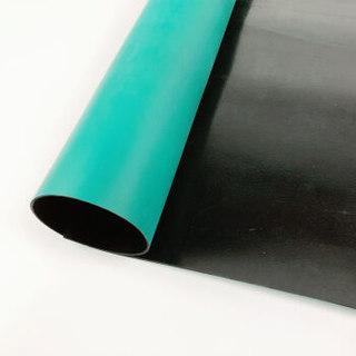 爱柯部落 舒伦防静电台垫桌垫  1m*10m*2mm  绿色
