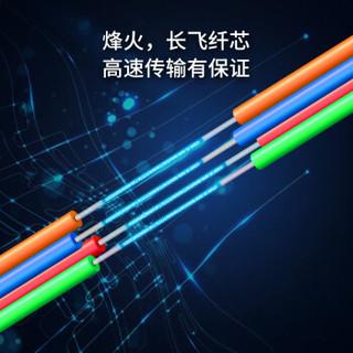 博扬(BOYANG)BY-GYTS-6B1 铠装6芯单模室外光缆 GYTS层绞式室外架空/管道网线光纤线 2000米/轴