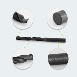 哈量直柄麻花钻5-3.4mm 钻头 钻花 优质高速钢 HSS 金属钻头 直径28mm