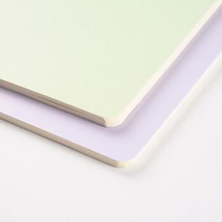 文谷(wengu)4本装 读书笔记本子a5软抄学生阅读摘抄本车线本40张CX-037-A5