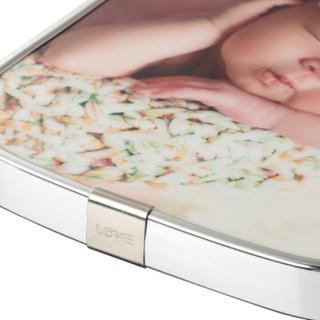 乐凯 版画相框 照片DIY定制 12英寸 亮银 水晶版画 画框 色彩鲜艳 高清耐划伤
