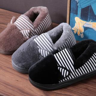 LETUO 乐拖 儿童卡通包跟棉拖鞋 SJ6823