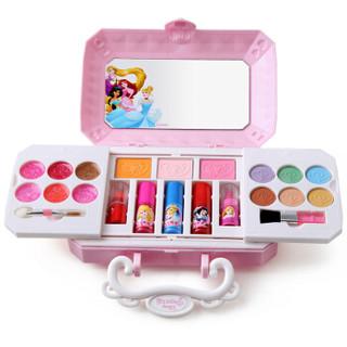 迪士尼Disney 女孩化妆品玩具表演节目安全儿童白雪公主腮红眼影综合彩妆箱 嘉年美妆迷你手提盒