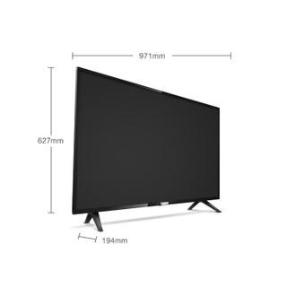 飞利浦(PHILIPS)43PFF5292/T3 43英寸 人工智能 全高清二级省电能效 网络智能液晶电视机