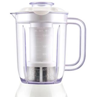 九阳(Joyoung)料理机家用 电动多功能双杯榨汁机 研磨 榨汁杯 婴儿辅食 搅拌机 大容量果汁机JYL-C19V