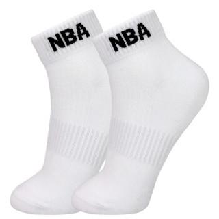 NBA袜子男士袜子低帮男袜精梳棉舒适透气 篮球运动短袜 3双装 混色