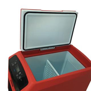婷微(Tingwei)CB-12 12L红色触控升级 车载冰箱 智能数显车载冷暖箱