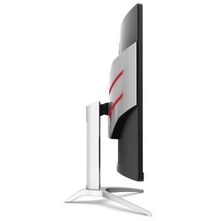 AOC AG322FCX1 31.5英寸 三代曲面升级 144Hz刷新 1ms 广色域 FreeSync技术 ΔE2吃鸡 游戏电竞电脑显示器