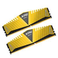 威刚(ADATA)DDR4 3000  16GB (8GBx2)套装 台式机内存 XPG-Z1 游戏威龙(金色)
