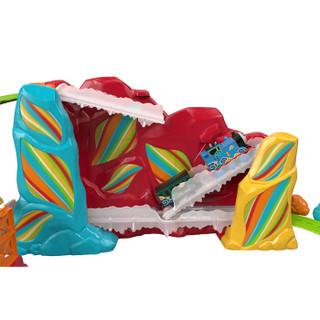 托马斯和朋友 THOMAS&FRIENDS 儿童男孩玩具 托马斯电动系列之彩虹山奇遇记轨道套装 FJK20