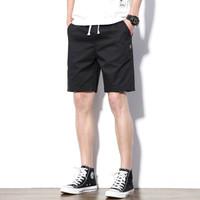YUZHAOLIN 俞兆林 五分短裤男士时尚简约大码运动沙滩五分短裤 8907