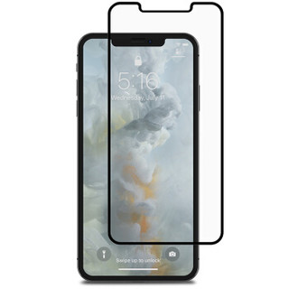 Moshi摩仕 iPhone XS Max防窥钢化玻璃全覆盖膜IonGlass Privacy 黑-iPhone XS Max