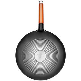 美的(Midea)炒锅 老式家用炒菜铁锅电磁炉燃气灶煤气灶适用小炒菜锅专用大
