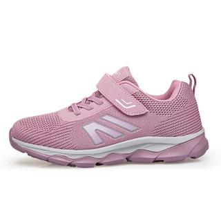 卡地玛丽 中老年健步运动休闲老人旅游鞋爸爸妈妈男女款 LQ901 藕粉/女款 40