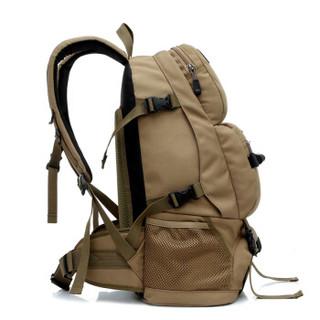 赛轩登山包 户外休闲登山包运动背包经典款065卡其色45L