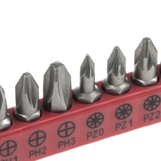 RS Pro欧时 8件装 PH0 → PH3、PZ0 → PZ3 合金钢 螺丝刀刀头