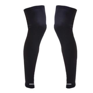 博沃尼克 篮球护膝 加长护小腿 护腿裤袜男运动护具骑行护膝套袜 透气吸汗速干L 单只装