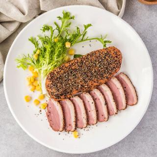 华英 黑胡椒烟熏鸭胸肉 540g/袋 鸭胸鸭脯肉烧烤鸭子肉 出口标准