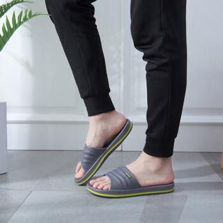 COQUi 酷趣 情侣款居家简约舒适休闲拖鞋 CQ-7922