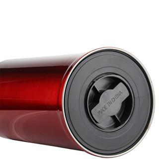 SIMELO(施美乐)印象京都玻璃内胆全钢保温壶 暖壶 热水壶 保温瓶 开水瓶 2L(红色)