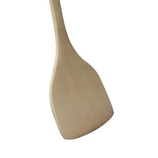 钻技(ZUANJ)不粘锅用木铲子 长柄勺铲 炒菜铲 木锅铲ZJ-MC01