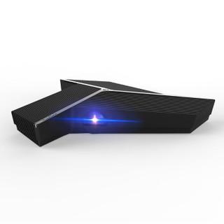 徕坦(LIGHTANK )W100 办公 智能投影机 投影仪(1000流明 自动对焦 一键同屏 4G+32G Win10 会议电话)