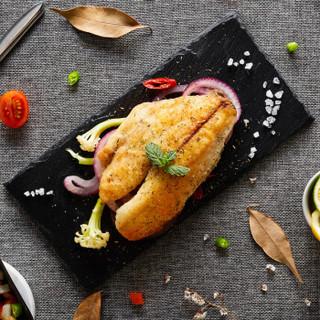 翔泰 黑椒鱼排(BAP认证)240g/盒 2片装 烧烤 火锅食材 半成品 海鲜水产