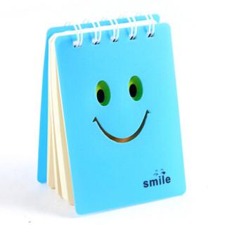 申士(SHEN SHI) 100K随身携带小线圈本 可爱糖果色笔记本 记事本 蓝色74100