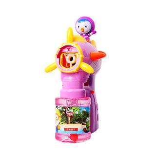 美澌嘉 佩蒂全自动泡泡枪 泡泡机 带灯光音乐 不漏液大瓶泡泡水 儿童泡泡玩具 泡泡棒