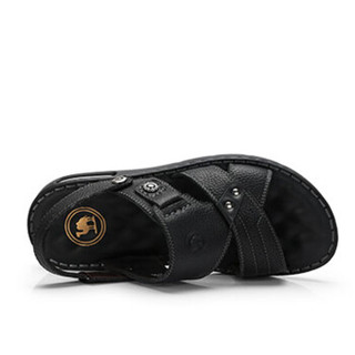 骆驼牌 男士软底防滑休闲透气凉鞋 W822287652