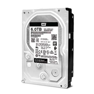西部数据(WD)黑盘 6TB SATA6Gb/s 7200转256M 台式游戏硬盘(WD6003FZBX)