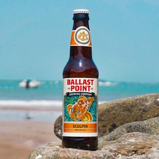 美国进口精酿啤酒 巴乐丝平(岬角)杜父鱼印度淡色艾尔啤酒 355ml*6瓶