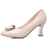 GUCIHEAVEN 古奇天伦 女士 休闲百搭职业正装高跟皮鞋 8566 米色 40