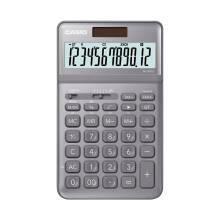 12日6点:卡西欧stylish时尚计算器 铂晶银 JW-200SC-GY
