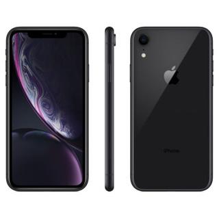 Apple iPhone XR (A2108) 64GB 黑色 移动联通电信4G手机 双卡双待