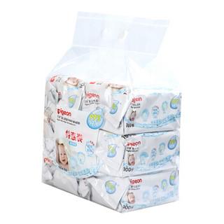 Pigeon 贝亲 PL347 婴儿柔湿巾100片6包