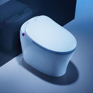 惠达(HUIDA)一体式智能马桶坐便器超漩式静音防臭无水箱即热式自动座便器ET31-QB 400坑距